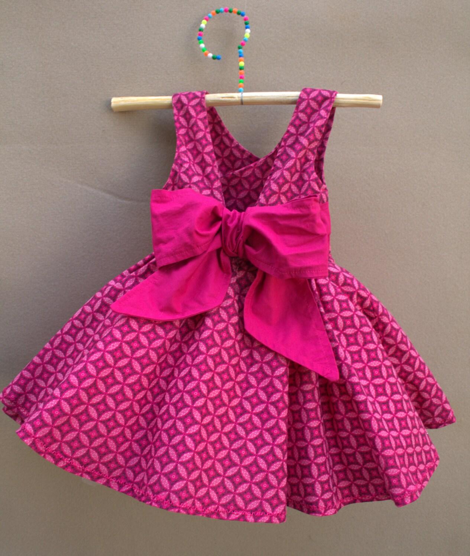 hot pink baby dress - photo #23