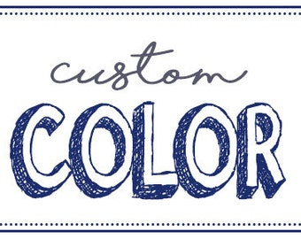Custom Color Listing
