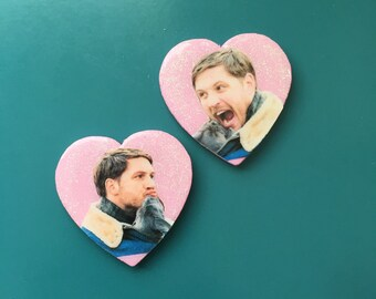 TOM HARDY + PUPPY pin pack
