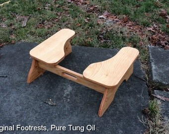 Low POOP STOOP Partial-Squat Toilet Foot Stool