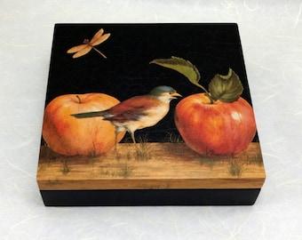 Folk Art Decorated Box