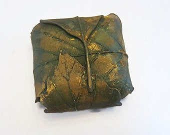 Gold Leaf Wrap Soap - Choose your Scent