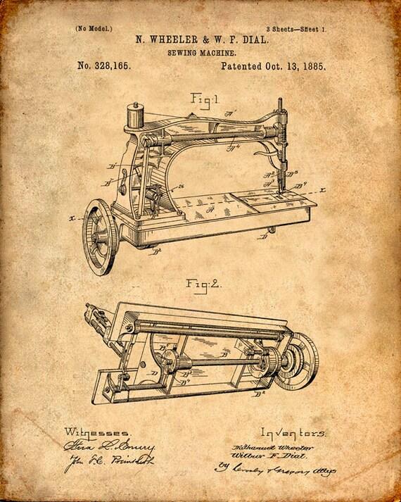 machine prints