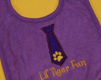 Tiger Fan Bib