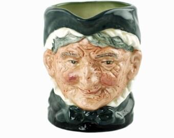 """Vintage Royal Doulton """"Granny"""" D6384 3.375"""" Character Jug"""