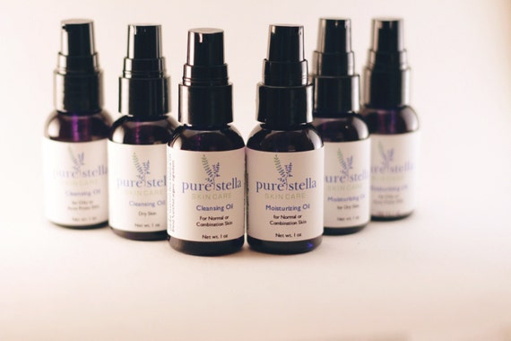 Facial Cleansing and Moisturizing Oil Customized Set