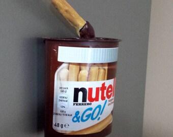 Full Size Nutella & Go Snack Pot Fridge Magnet