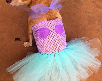 Mermaid dog costume, Halloween Dog costume, dog mermaid, costume for dogs, mermaid dress, dog tutu, costume for dogs, pet costume, beach dog
