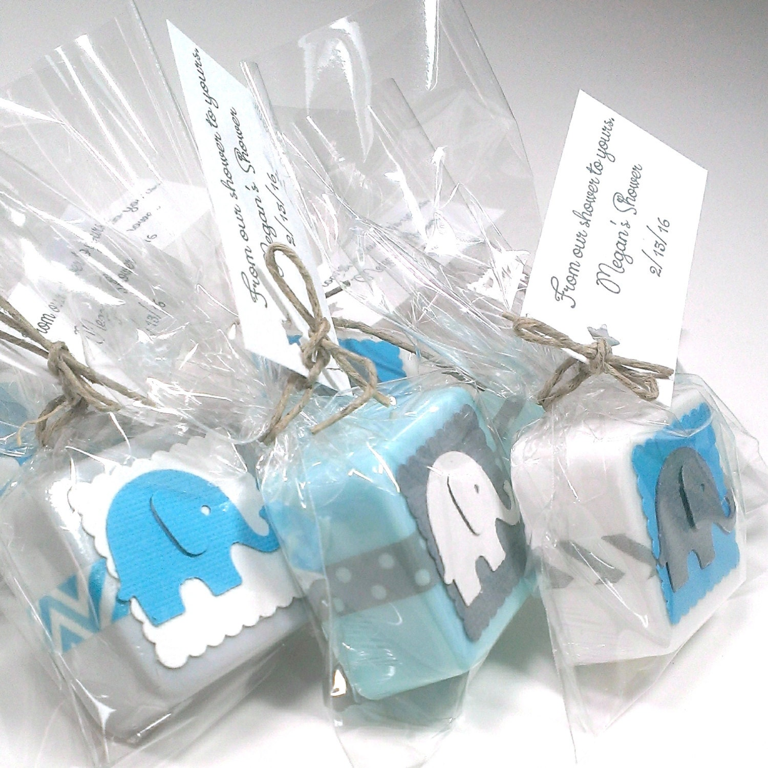elephant baby shower favors elephant shower favors baby shower favors girl baby shower favors boy choose your own color theme