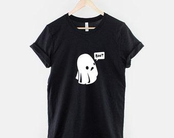 Cute Ghost Boo Halloween T-Shirt