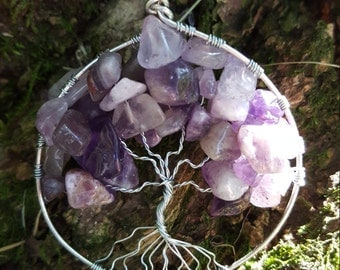 Tree of Life - Amethyst