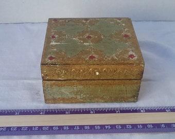 Vintage Italian Florentia  Box