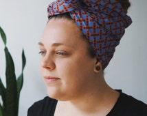 Headwrap, African Clothing, African Head Wrap, African Turban Headwrap, African Hair Wrap, African Turban, Fabric Headwrap, Ubuntu (HS02)