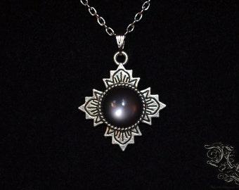 """Necklace """"Sanctuary"""" - black version"""