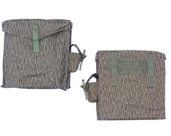 """Waterproof Belt Bag Ex-Army In """"Rain Camo"""" - spacious fishing hiking boat canoeing rainproof - east german army surplus"""