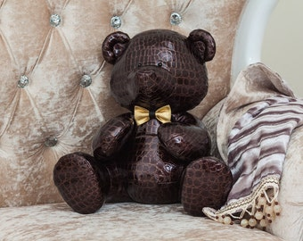 Mr. Brown - Stuffed Teddy Bear Designer Toy