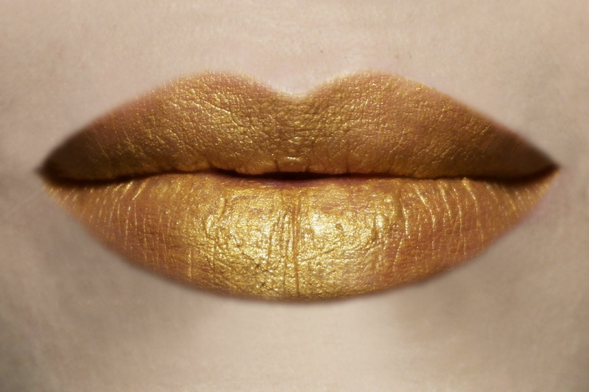 Old Money Gold Vegan Lipstick Vegan Makeup Vegan Lipstick