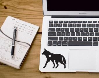 SUMMER SALE! Maned Wolf Sticker Wolf Decal wolf Car Laptop Vinyl Decal Sticker