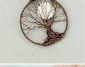 Tree of life necklace Mother of pearl necklace Tree pendant Family tree necklace Boho jewelry Mothers day gift for mom gifts Rustic decor