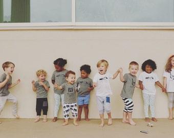 Ezra Apparel kids at play