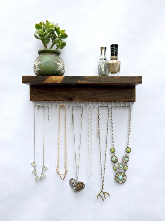 necklace holder holds 23 necklaces or bracelets by