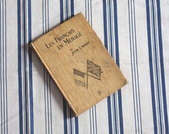 Les Francais En Menage by Jetta S.Wolff