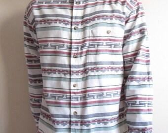 Vintage Stripe Detail Shirt
