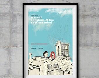 Eternal Sunshine of the Spotless Mind Alternative Movie Poster - Original Illustration