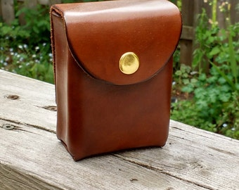 Custom 60 card leather deck box with belt loop/clip for Yu-Gi-Oh, Magic the Gathering, Pokémon, Cardfight Vanguard and others! --遊戯王 デッキボックス