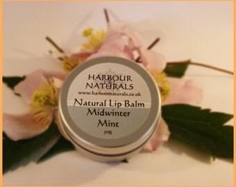 Luxury Midwinter Mint Lip Balm - 30g