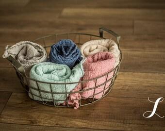 Newborn Wrap, Cheesecloth.  One Wrap.  Newborn Photo Prop, Newborn Wrap