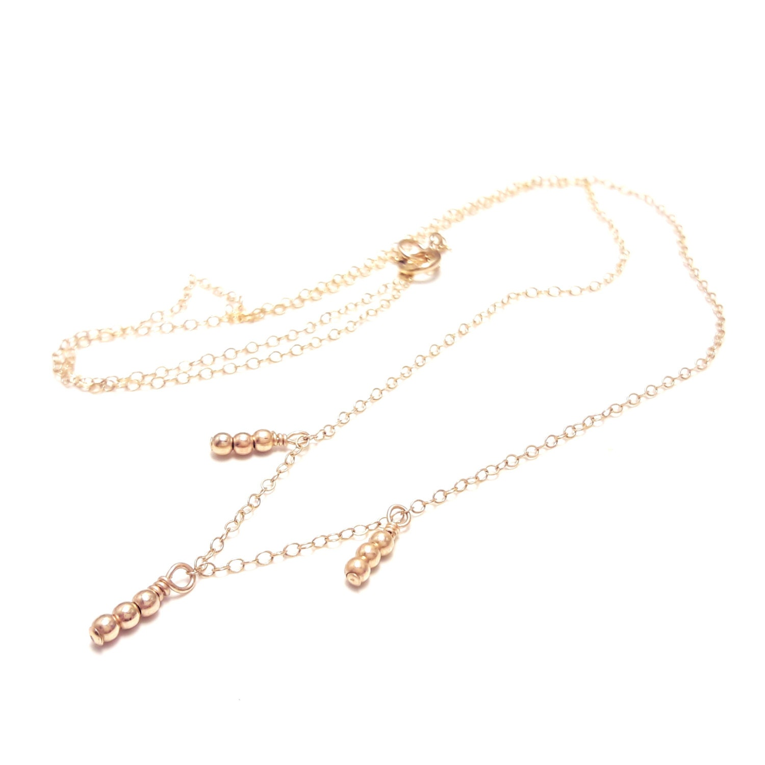 delicate gold necklace dainty gold necklace delicate necklace
