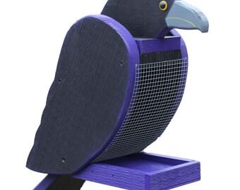 Amish Made Raven Bird Feeder