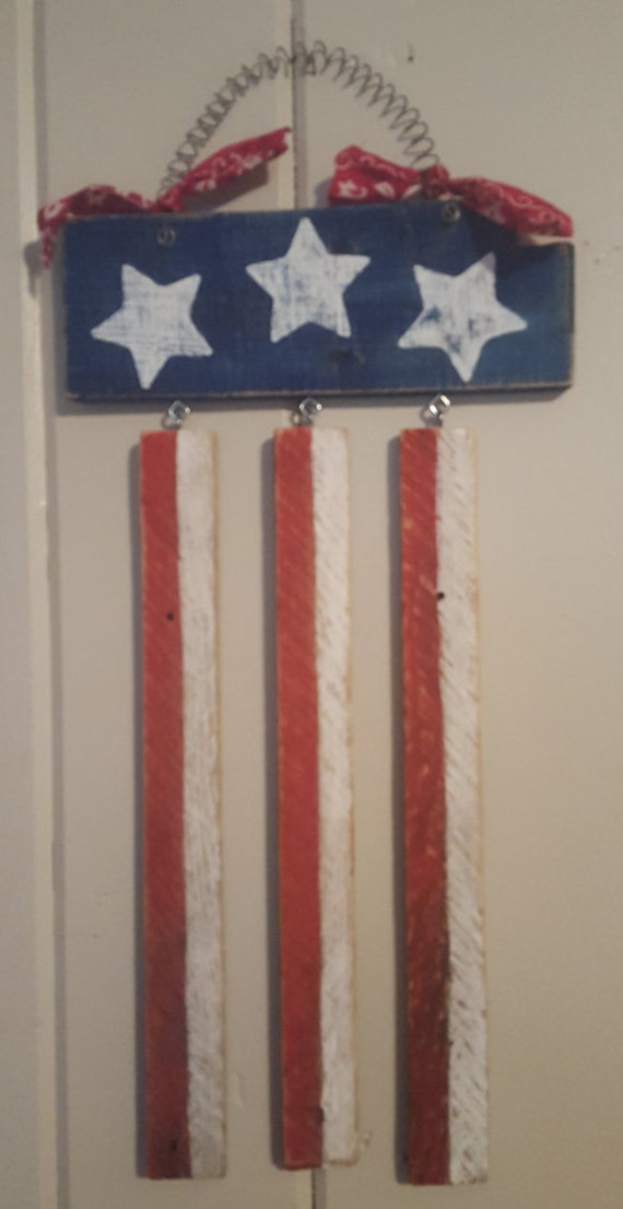 Items similar to stars and stripes wall decor july 4th Stars and stripes home decor