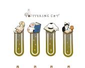 NEW Potterying Cat Bookmark