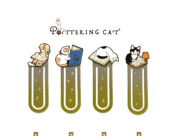NEW Potterying Cat Bookmark