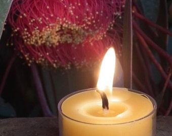 Beeswax Tea Light Candle