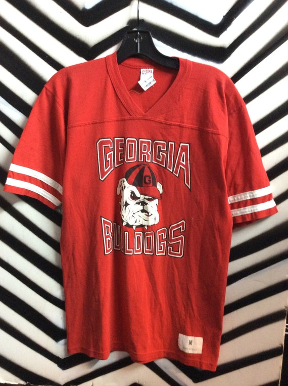 georgia bulldog t shirts georgia bulldogs vintage throwback sports t shirt tee 3298