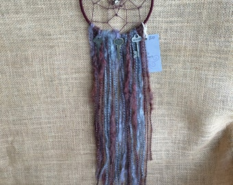 Maroon Key Dream Catcher