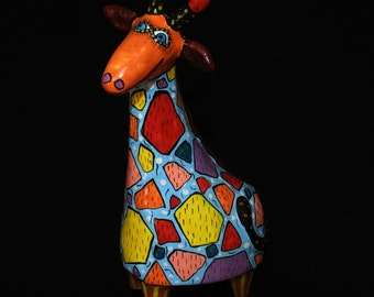 Giraffe ceramics