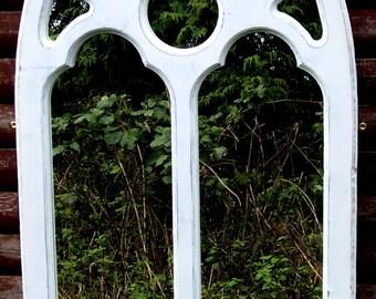 Cathedral Interior Gothic Mirror