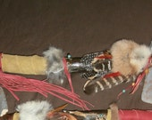 """TOMAHAWK  """"the DEER""""  ~~~~  A Beautiful Authentic Tomahawk """"the Deer"""" was handmade by Uncle Hawkeye ~~~~ BLESSINGS!!!!"""