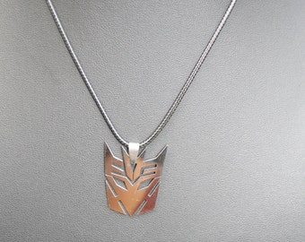 Transformers Necklace, Stainless Steel Transformers Necklace,
