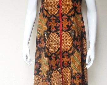 Beautiful Handmade Handwritten Batik Dress