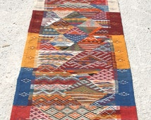 Rug Runner Rug, Carpet Runner, Stair Runner, Hallway Runner, Hallway Rug, Stair Carpet Runner, Geometric Rug, Multi-Colored Rug