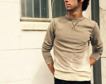 Acid Washed Sweatshirt - Medium