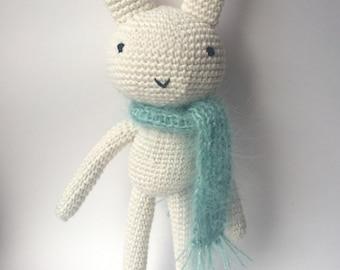 amigurumi crochet toy bunny