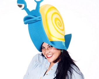 Funky Snail Hat great for Halloween party's & costumes