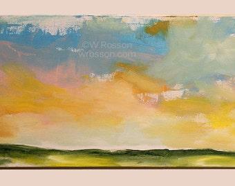 Large, Minimalist Landscape, Original Painting, Abstract, Minimal, Modern, Art, Home, Office Decor, Gift, Winjimir, Wall Art, Office Art,