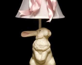 Garden Bunny Lamp